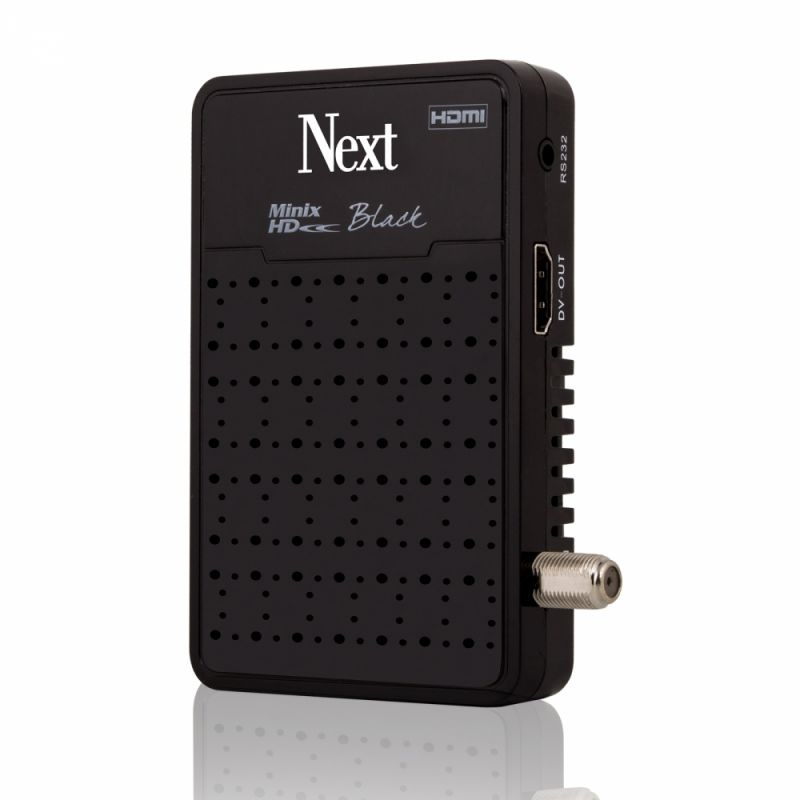 Next Minix HD Black