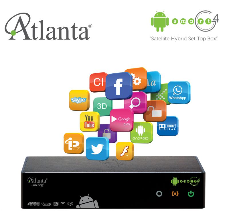 Atlanta HD Box Smart G4